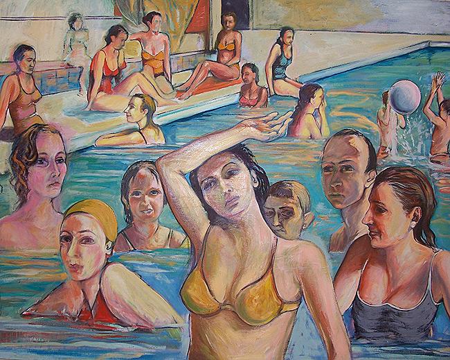 Huile sur toile, 160 x 140cm (2005)