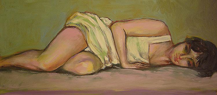 Huile sur bois, 70 x 50cm (2008)