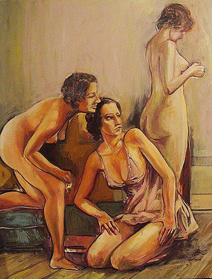 Huile sur toile, 114 x 146cm (2008)