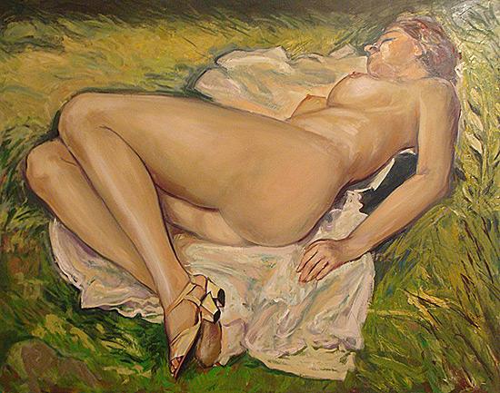 Huile sur toile, - 114 x 146cm (2008)