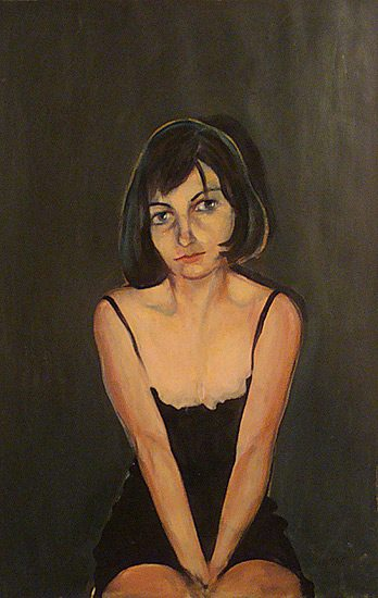 Huile sur papier, 75 x 110cm (2008)