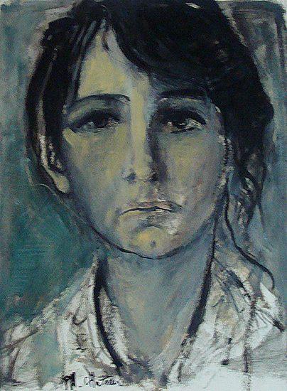 Camille Claudel - Huile sur papier, 70 x 199cm (2008)
