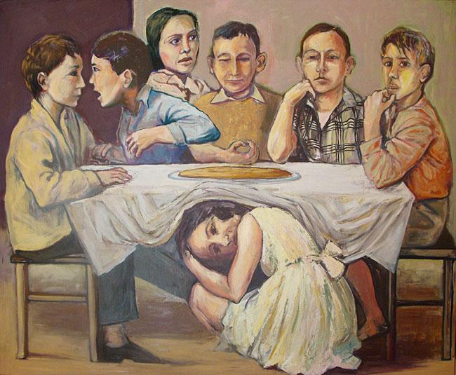 Huile sur toile - 195 x 130cm (2010)