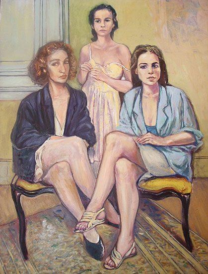 Huile sur toile - 130 x 195cm (2010)