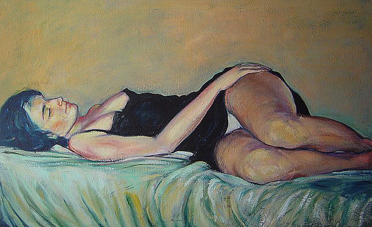 Huile sur toile, collection particulière (2001)