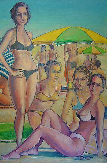 Huile sur toile, 190 x 130cm (2004)