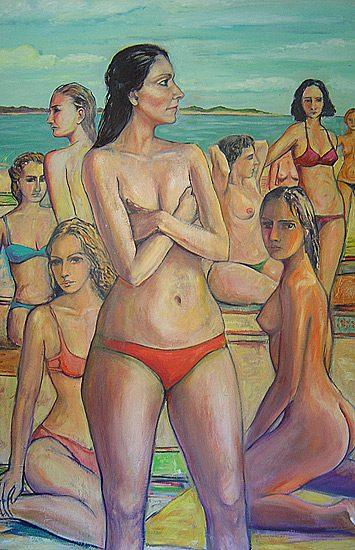 Huile sur toile, 190 x 140cm (2005)