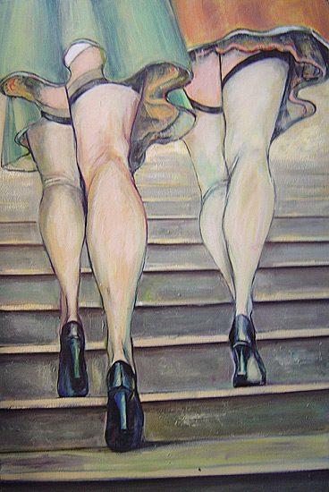 Huile sur toile, 190 x 140cm (2006)