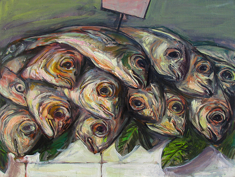 L'étal de poissons