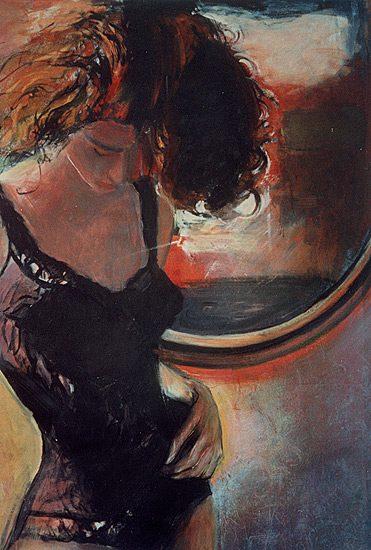 Huile sur toile, 60 x 55cm (1990) - Collection particulière
