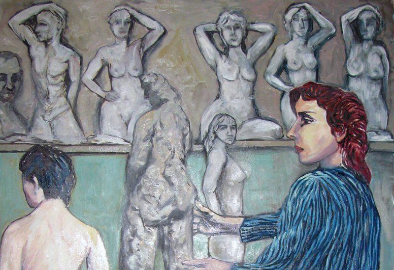 Sculptrice et son modèle